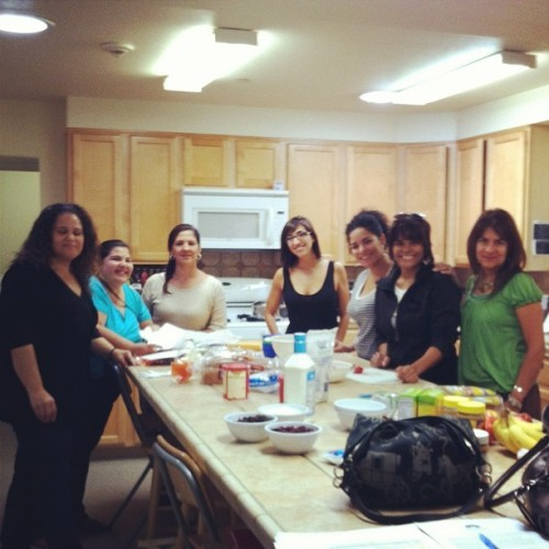 Chicas_nursery_visit