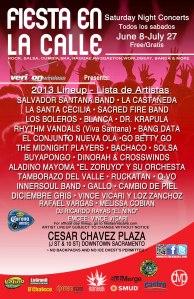 Fiesta en la calle 2013