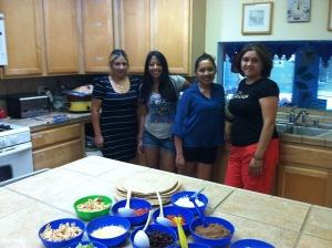 chicas nursery visit June1