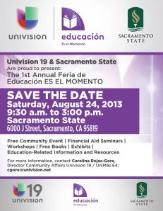 Feria Educativa / Education Fair: This Is The Moment
