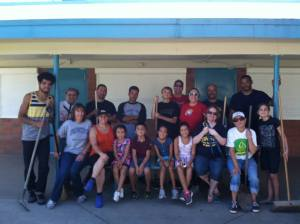 Woodbine Elementary Clean-Up