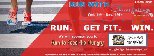 #TeamChicas Run to Feed the Hungry