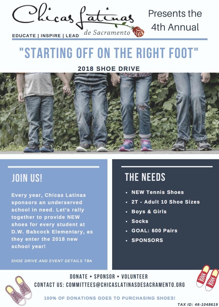 Shoe Drive 2018 Flyer
